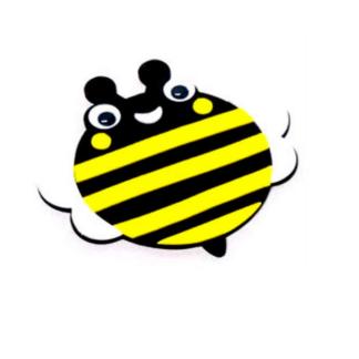 Set met materiaal om zes onderzetters met bijendecoratie te maken. Leuk tijdens een thematisch kinderfeestje rond bijen en/of andere insecten.